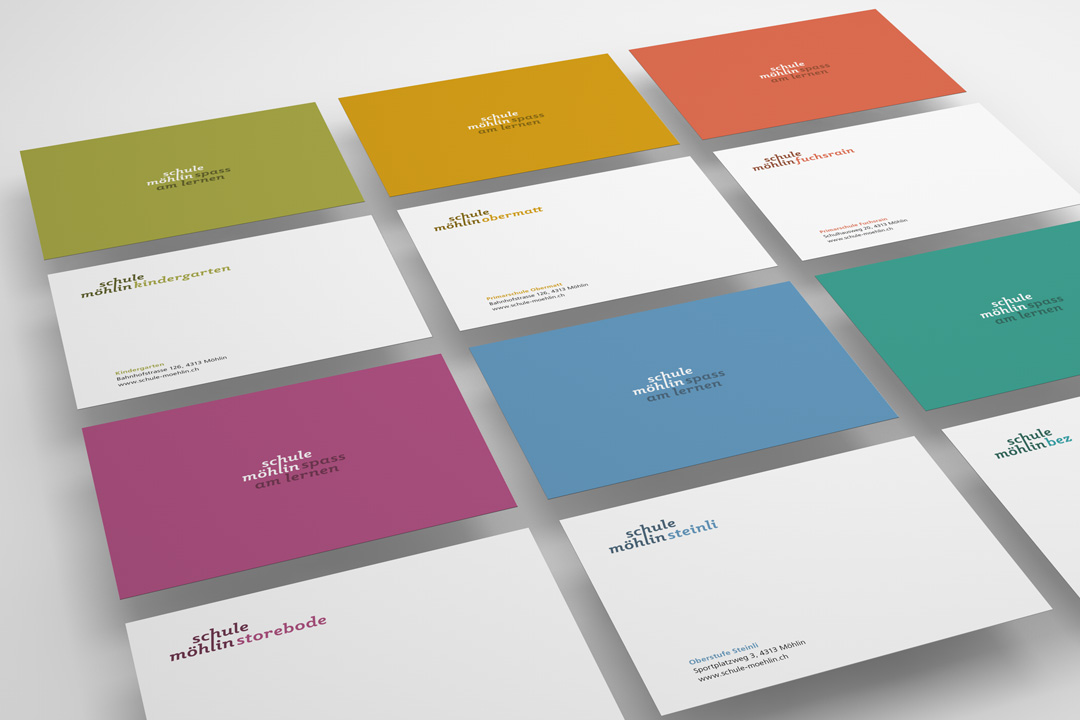 Corporate design f r die schule m hlin aktuelles und for Schule design